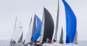 Howth boats are leading the way at the ICRA Nationals and Sovereigns Cup. Photograph: David Branigan/Oceansport