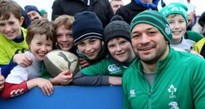 Ireland training sessions will be open to supporters. Photograph: Inpho