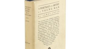 "A first edition copy – with the ""very rare"" dust-jacket – of A Portrait of the Artist as a Young Man by James Joyce's  sold for £40,000"