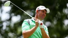 Padraig Harrington is four shots off the lead after the first round of the Travelers Championship. Photograph: Getty