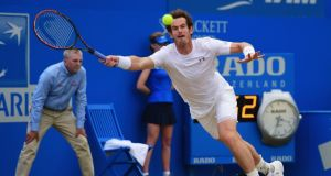 Andy Murray will play Kazakhstan's Mikhail Kukushkin in the first round at Wimbledon and has also been drawn in the same quarter as Rafael Nadal. Photograph: PA