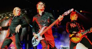 Headline act: Duran Duran had been announced as being on the bill in Killarney