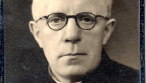 Cork priest Fr Tom Duggan who volunteered as a British army chaplain in both World Wars and was awarded the Military Cross for bravery and an OBE by King George VI.