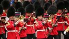 Grenadier Guards are due to take part in the Armed Forces Day on Saturday. Photograph:  Getty