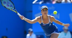 Switzerland's Belinda Bencic won the WTA Eastbourne International tennis tournament in Eastbourne. Photograph: Getty Images