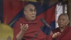 Glastonbury: Dalai Lama makes historic appearance