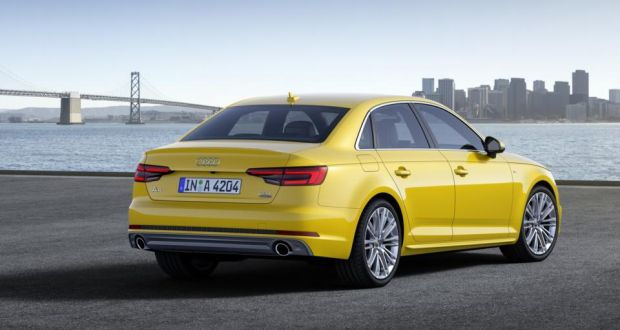 Audi Unveils New A After Shedding Kgs - Audi a4 weight