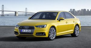 The new Audi A4: significant weight saving means impressive fuel economy and low emissions