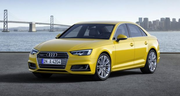 Audi Unveils New A After Shedding Kgs - New audi a4