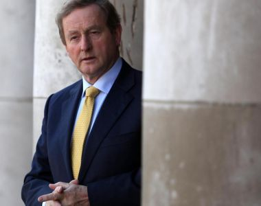 "Taoiseach Enda Kenny told Greece that ""in Ireland's case we did not increase income tax; we did not increase VAT; we did not increase PRSI"". Photograph: Sam Boal/Photocall Ireland"
