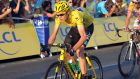 Team Sky's Chris Froome is the favourite for this year's Tour de France. Photograph: Tim Ireland/PA Wire.