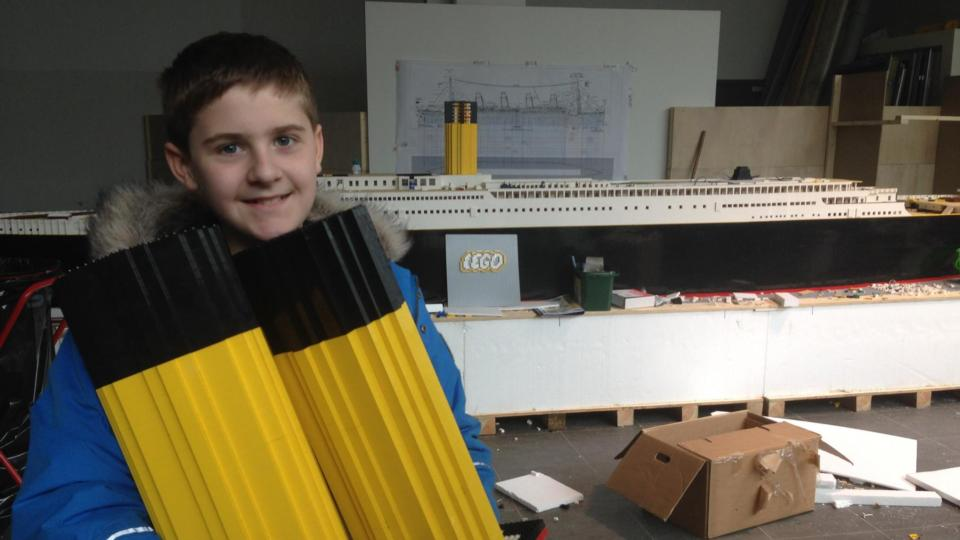 Building Lego Titanic Helped Autistic Boy With Obstacles In Life