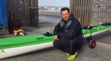 Waterford sea kayaker on course for speed record around Ireland