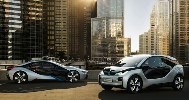 Bmw I5 Electric Saloon On The Way