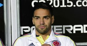 Radamel Falcao's family have confirmed his move to Chelsea. Photograph: Afp