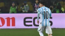 Lionel Messi inspired Argentina's 6-1 Copa America semi-final  win over Paraguay. Photograph: Afp