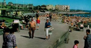 The John Hinde photograph of Salthill prom, estimated to have been taken in the late 1950s or early 1960s