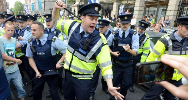 Image result for photo of the rat in the pub with gardai laughing