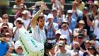 Andy Murray swept past Robin Haase and into the Wimbledon third round after a comprehensive 6-1 6-1 6-4 win. Photograph: Getty