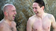 At swim, two buddies: searching for Ireland's best swimming spots