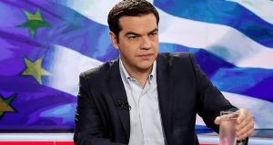 Alexis Tsipras: blamed the European Central Bank for caving in to political pressure to halt the vital funding that the banks needed. Photograph: Yorgos Karahalis/ Bloomberg