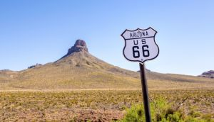 You can do Route 66 by car, but what about on the back of a Harley Davidson?