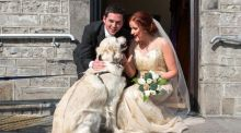 Our Wedding Story: 'It was perfect – just us and the dog'