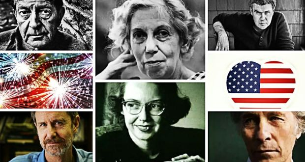 Among the best short story writers (top row): John Cheever, Eudora Welty, Raymond Carver; (Bottom row): Ron Rash, Flannery O'Connor and Richard Ford