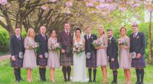 Our Wedding Story: 'I was more nervous about seeing the kilt'