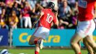 Conor Lehane scored Cork's opener in their Round 1 qualifier win over Wexford. Photograph: Inpho