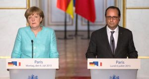 Merkel and Hollande urge Greece to offer quick proposals
