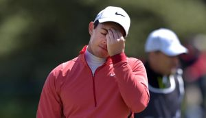 Rory McIlroy: has had to withdraw from the Scottish Open due to ankle injury. Photograph: Charles McQuillan/Getty Images.