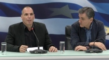 Greece: Varoufakis bids farewell, hands over to Tsakalotos