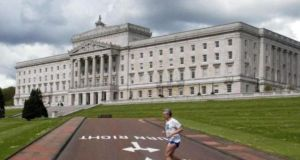The Parliament Buildings in the Stormont Estate in Belfast. Photograph: PA/Paul Faith.