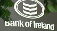 Bank of Ireland fell 0.29 per cent, to 34 cents, with 108 million shares traded