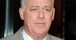 File photograph from 2010 of  Michael Barrymore. The former British television star  is taking legal action against police over his arrest after the death of a man in his swimming pool, it has been reported.  Photograph:  Ian West/PA Wire