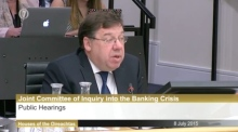 Banking inquiry: Cowen on the night of the guarantee