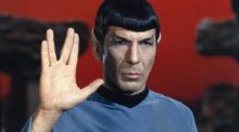 'This is highly illogical': Leonard Nimoy as Spock