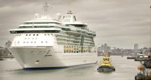 2015 is also set to be a record year for the port's cruise business
