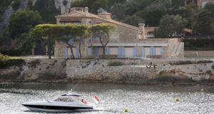 Villa la Carriere on the French Rivieira. Photo: AFP