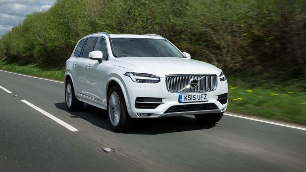 cecaf483fe Road Test  Volvo s XC90 breaks the mould