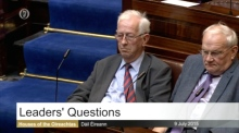 Heated Dáil row over Stagg's email on lone parent welfare cuts