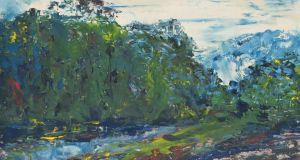 The Road Beside The River by Jack B Yeats goes to auction at Christie's