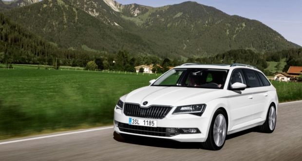 Test drive skoda superb