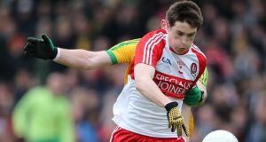 Derry will not include Gareth McKinless in their 26 man squad for Wexford trip. Photograph: Cathal Noonan/Inpho