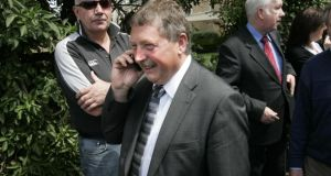 Sammy Wilson, who met with minister for finance Brian Lenihan in October 2009 to discuss Nama's Northern portfolio. Photograph: Dara Mac Dónaill / The Irish Times