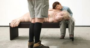 Installation at 'Relativity', an exhibition by Australian artist Patricia Piccinini at the Festival Gallery. Photograph: Joe O'Shaughnessy