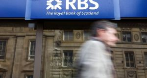 Royal Bank of Scotland said in May it had sold its last major portfolio of Northern Ireland-backed loans, Project Rathlin, to Cerberus. Photograph: Chris Ratcliffe/Bloomberg