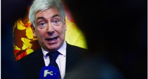 The use of postcodes provided under the new Eircode system will not be compulsory, Minister for Communications Alex White has said. Photograph: Bryan O'Brien/The Irish Times.