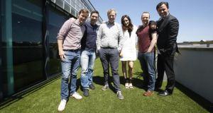 "Today FM presenters Dermot Whelan, Dave Moore, Matt Cooper, Louise Duffy, Neil Delamere and Anton Savage who took part in its Google Street View-themed promotion ""You Do the Maps""."